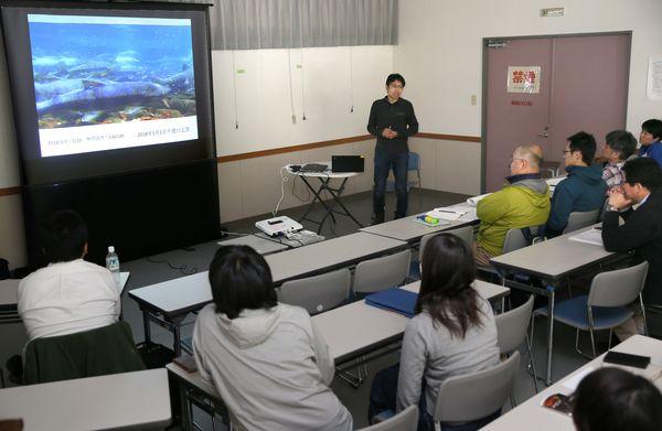 SWSP勉強会と稚魚調査
